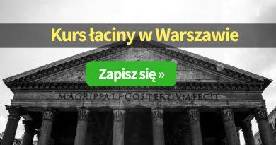 Kurs łaciny Warszawa